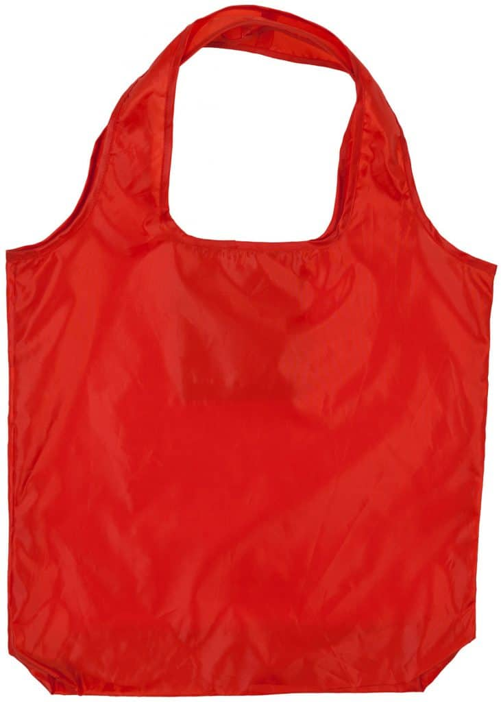 Sac pliable rouge