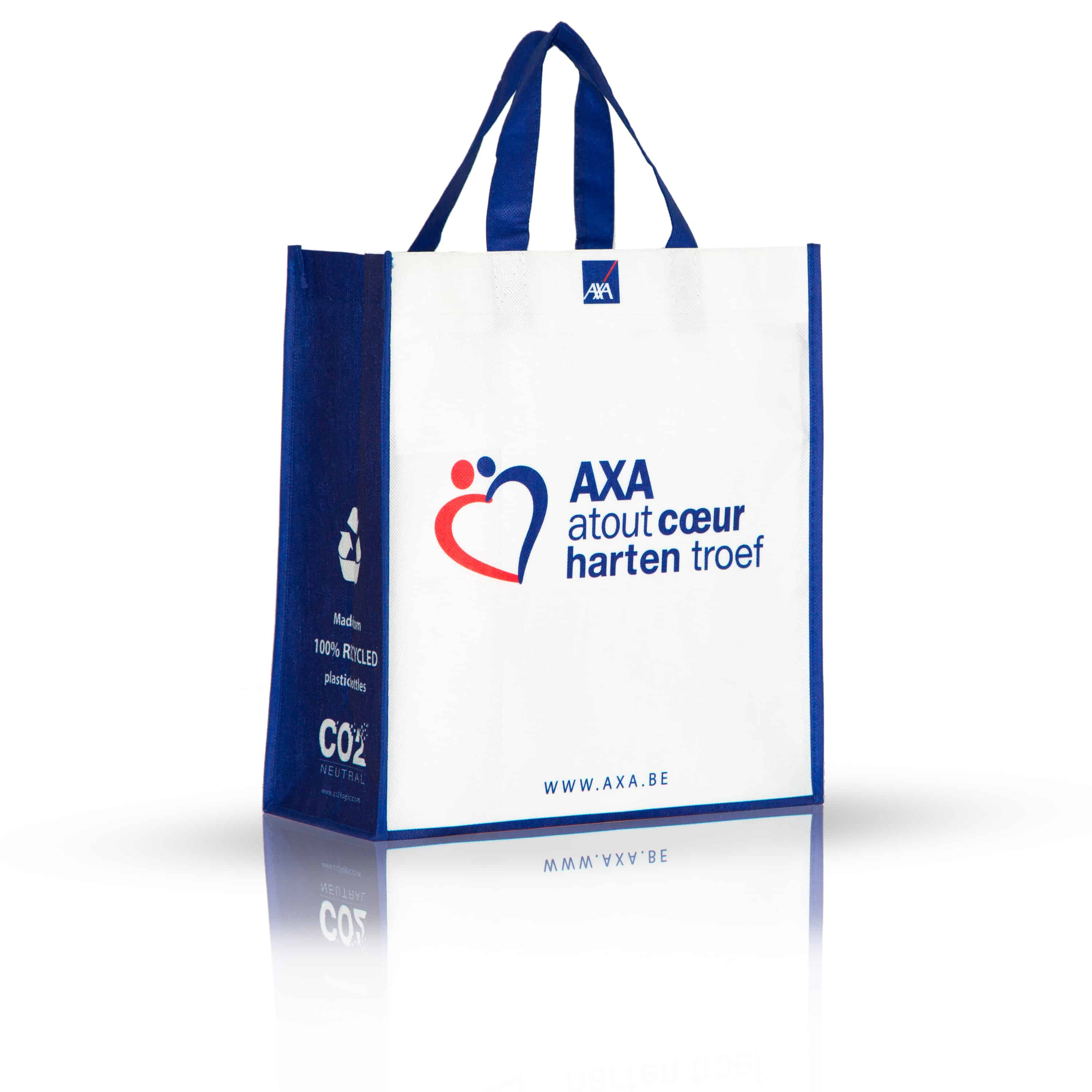 Bag in recycled PET non laminated