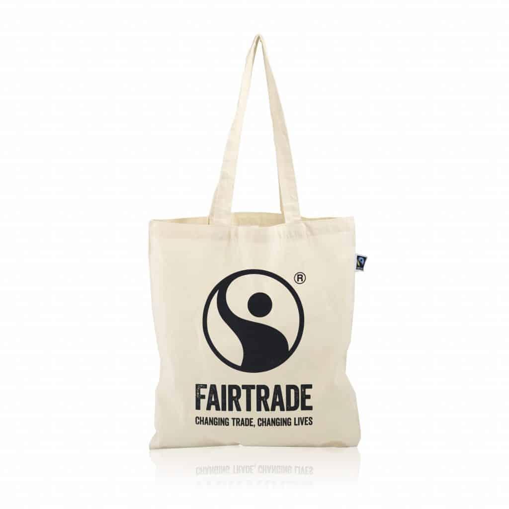 Tote bag en coton Fairtrade