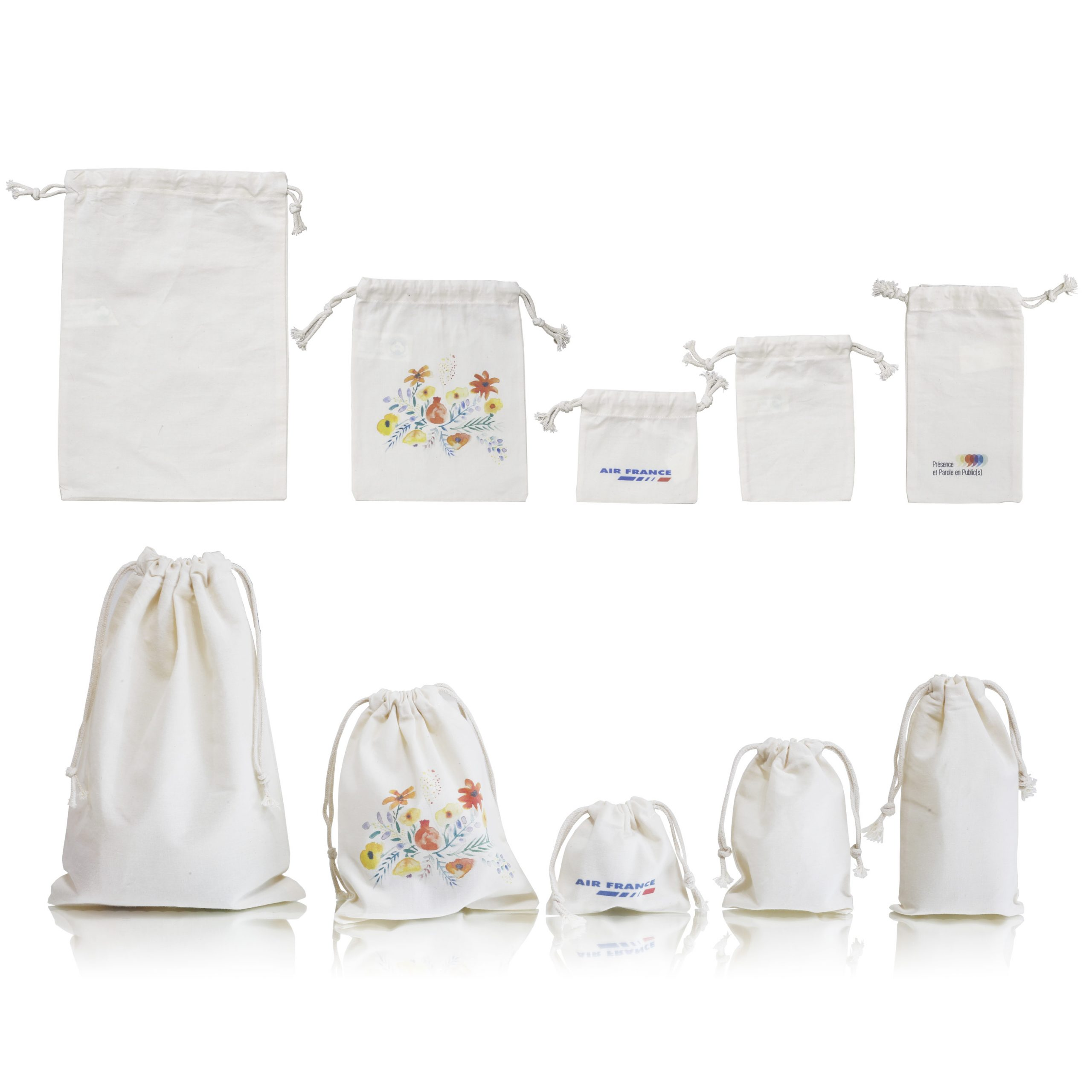 Poche en coton Bio&Fairtrade