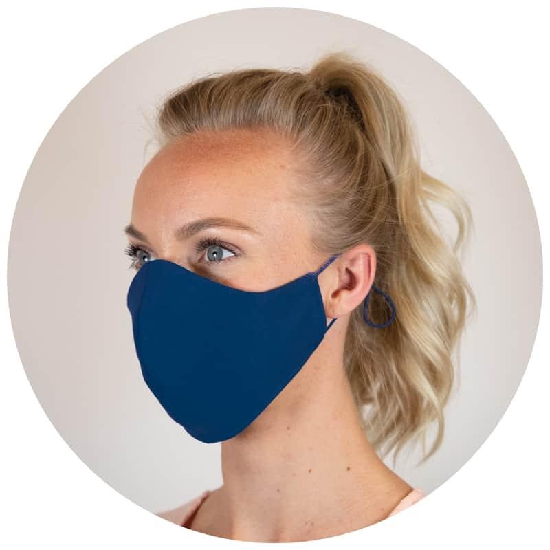 masque avec bretelles réglables
