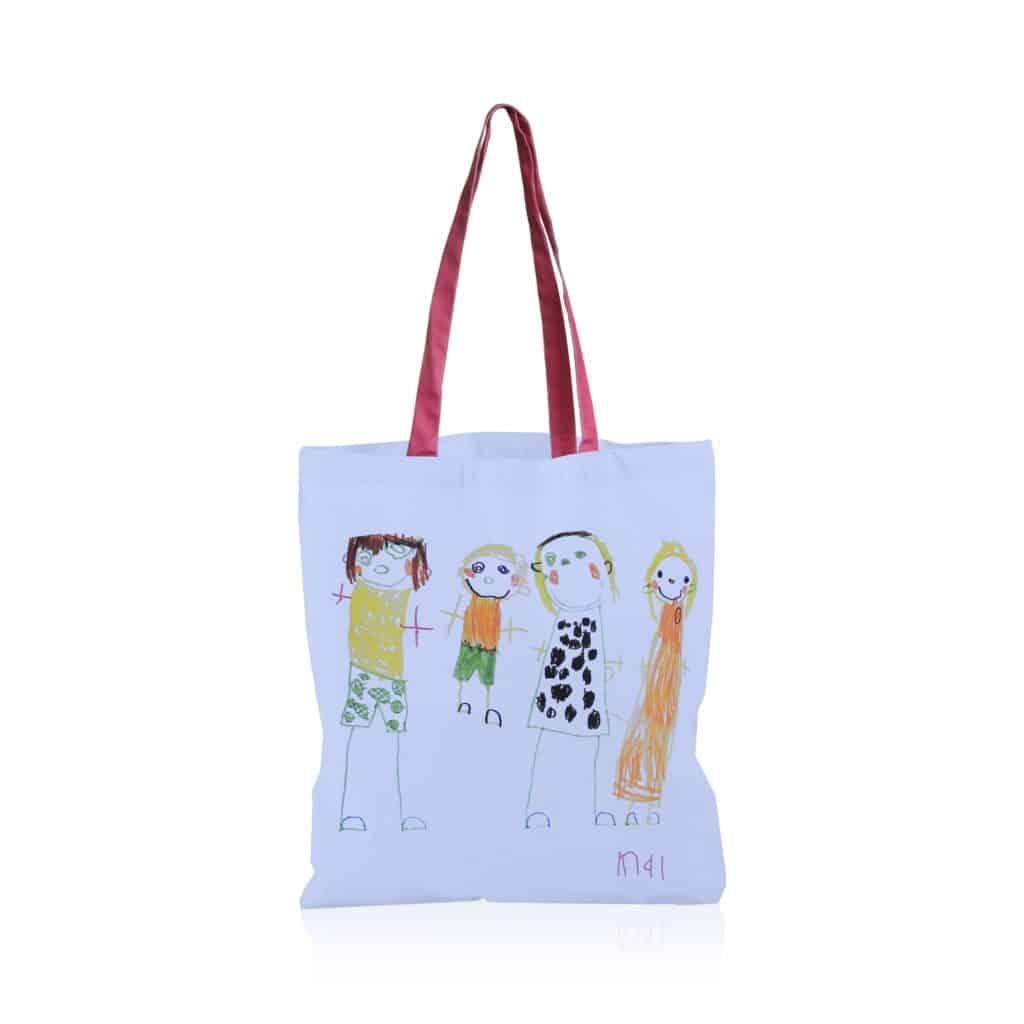 Draw - Tote bag full color