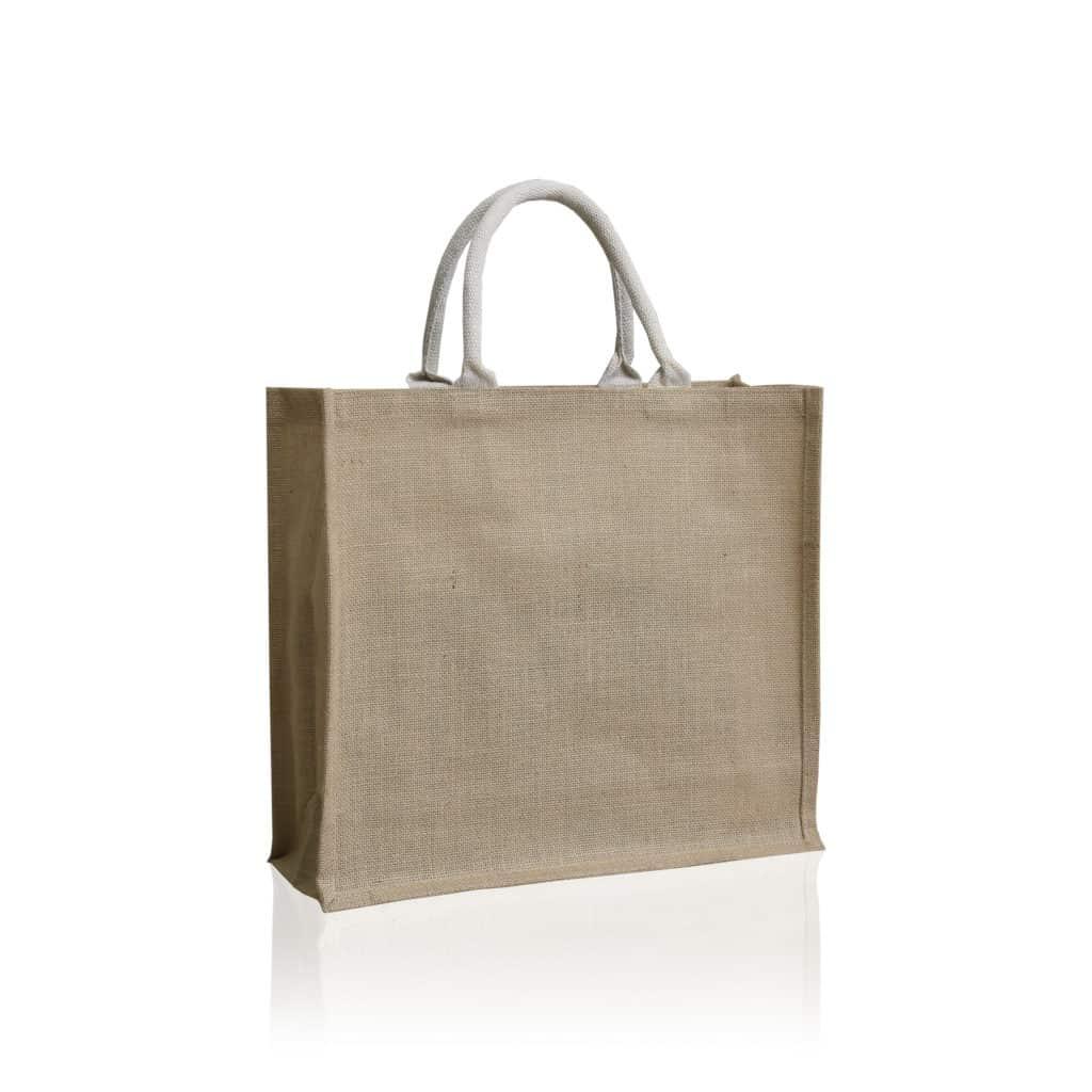 Shopping bag in natuurlijke jute