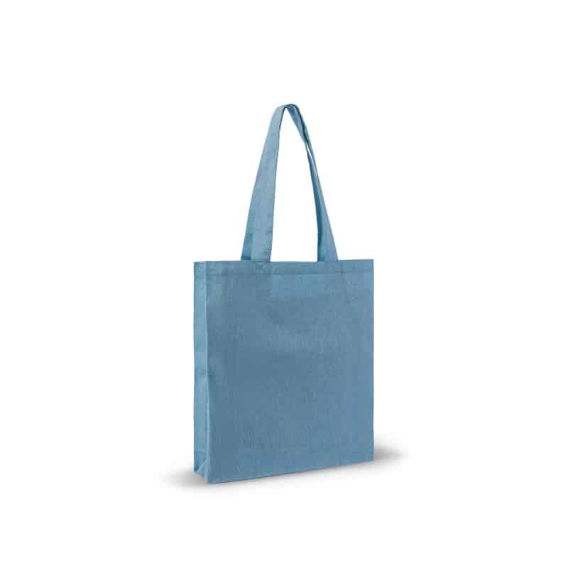 Tote bag avec soufflets - Coton recyclé